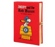 BESTICKTE BUCHCLUTCH 'SNOOPY RED BARON'