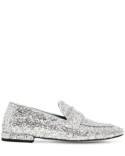 10MM HOHE GLITZERLOAFERS 'FLIRTY EYE'