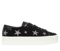 40MM SNEAKERS AUS WILDLEDER 'COURT CLASSIC STARS'