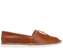 20MM HOHE ESPADRILLES AUS LEDER 'JUNGLE MONKEY'