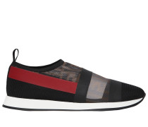 20MM HOHE SLIP-ON-SNEAKERS AUS STRETCH-MESH