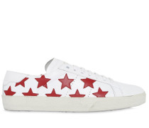 LEDERSNEAKERS 'COURT CLASSIC STAR'