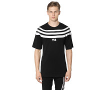 3 STRIPES COTTON JERSEY T-SHIRT