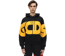 NEW HUGE LOGO COTTON SSWEATSHIRT HOODIE