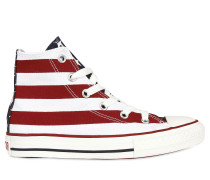 'OLD GLORY' HOHE SNEAKERS AUS SEGELTUCH