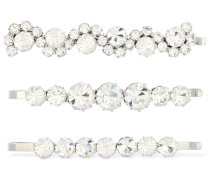 SET OF 3 CRYSTAL HAIRPINS