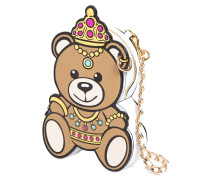 SCHULTERTASCHE AUS LEDER 'TEDDY BEAR'