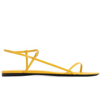 10MM BARE LEATHER FLAT SANDALS