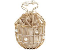 GINESTRA CRYSTAL BUCKET BAG