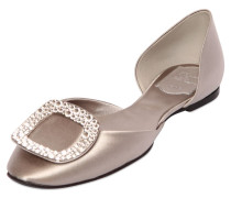 10MM HOHE D'ORSAY-SCHUHE AUS SATIN 'CHIPS'