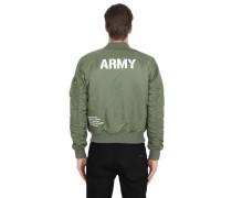 BOMBERJACKE AUS NYLON 'MA-1 VF ARMY'