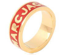 'DREAMY LOGO' RING AUS MESSING