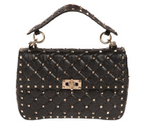 MEDIUM, GESTEPPTE LEDERTASCHE 'ROCKSTUD'