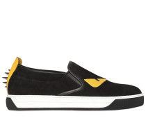 SLIP-ON-SNEAKERS AUS WILDLEDER 'MONSTER'