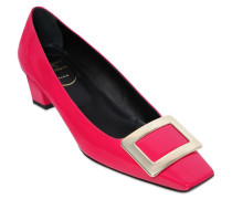 45MM 'BELLE VIVIER' PUMPS AUS LACKLEDER