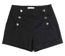 SHORTS AUS STRETCH-BAUMWOLLGABARDINE
