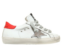 SNEAKERS AUS NAPPALEDER 'SUPER STAR'