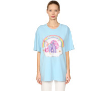 OVERSIZED T-SHIRT AUS JERSEY 'LITTLE PONY'