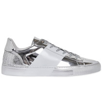 METALLISCHE LEDERSNEAKERS 'SPORT COUTURE'