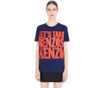 T-SHIRT AUS BAUMWOLLE 'LET'S TAKE BENZOS KENZO'