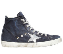 'FRANCY' HOHE SNEAKERS AUS DENIM