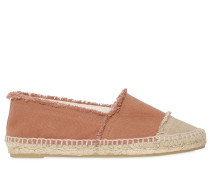 10MM FRINGED CANVAS ESPADRILLES