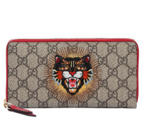 BRIEFTASCHE AUS GG-SUPREME-STOFF 'ANGRY CAT'
