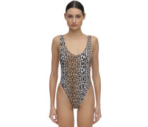 FUNKY LEOPARD ONE PIECE SWIMSUIT