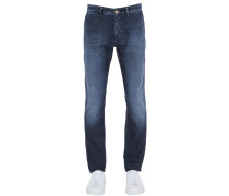 16CM CHINOHOSE AUS STRETCH-BAUMWOLLDENIM