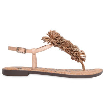 10MM GATES FRINGED LEATHER SANDALS
