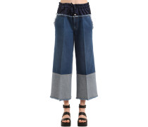 DENIMJEANS MIT BOXERTAILLE