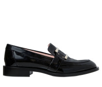 30MM HOHE LOAFERS AUS LACKLEDER