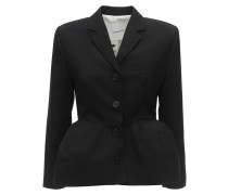 STRUCTURED COOL WOOL JACKET