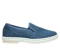 SLIP-ON-SNEAKERS AUS BAUMWOLLDENIM