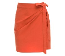 PONZA COTTON POPLIN MINI SKIRT