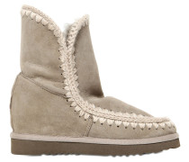 70MM KURZE WEDGE-STIEFEL AUS SHEARLING 'ESKIMO'