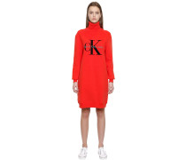 SWEATSHIRT-KLEID AUS BAUMWOLLE 'TRUE ICON'