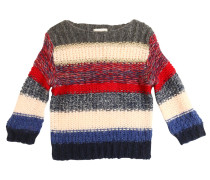 PULLOVER AUS WOLL/MOHAIRTRIKOT