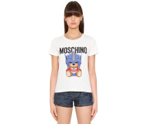 T-SHIRT AUS JERSEY 'TRANSFORMER BEAR'