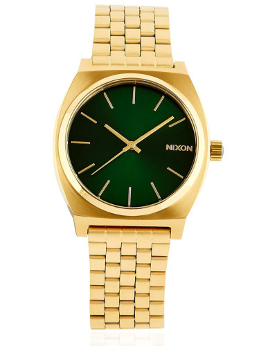 nixon damen time teller gold finish watch reduziert. Black Bedroom Furniture Sets. Home Design Ideas