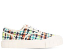 ACE PRINTED CANVAS SNEAKERS