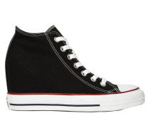 80MM HOHE WEDGE-SNEAKERS AUS CANVAS 'CHUCK TAYLOR'
