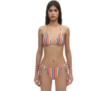 RAINBOW TRIANGLE BIKINITOP
