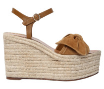 110MM HOHE WEDGE-SANDALEN 'TROPICAL'