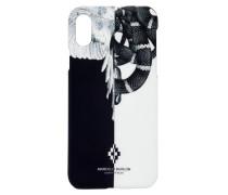 IPHONE X-COVER MIT SCHLANGEN- UND FLÜGELDRUCK