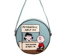 DIZZIETASCH MIT STICKEREI 'PSYCHIATRIC HELP'