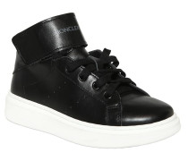 HOHE SNEAKERS AUS NAPPALEDER