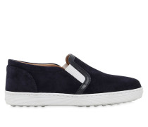 SLIP-ON-SNEAKERS AUS WILDLEDER