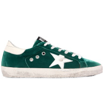 20MM HOHE SNEAKERS AUS SAMT 'SUPER STAR'