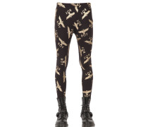 LEGGINGS AUS BAUMWOLLE 'BOY LOGO'